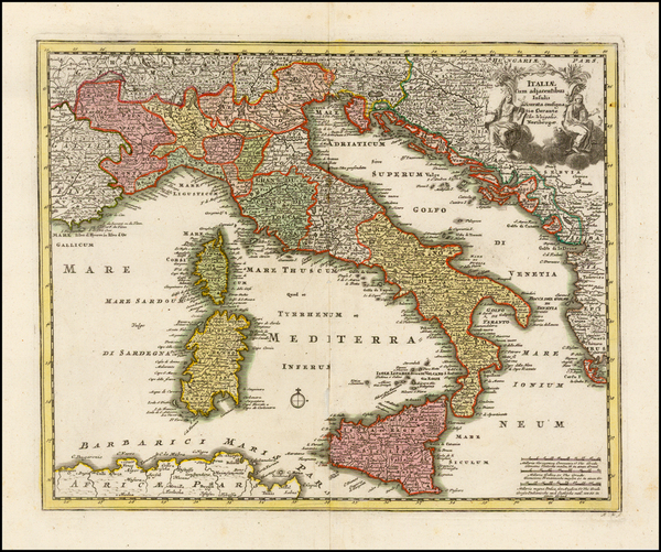 62-Italy Map By Christopher Weigel