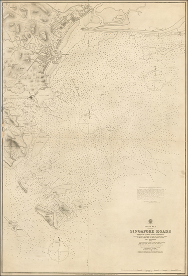 47-Southeast Asia and Singapore Map By British Admiralty