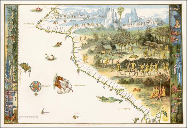 99-Australia Map By Nicholas Vallard