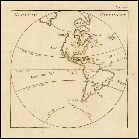 59-South America and America Map By Anonymous