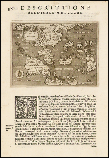 45-Southeast Asia and Other Islands Map By Tomasso Porcacchi