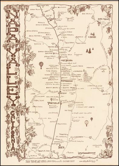 11-California Map By Gary Weatherly