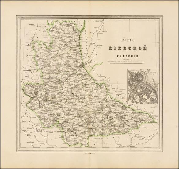 53-Ukraine Map By Alexey Ilyin