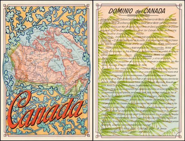 Canada Map By Antonio F. Raggio