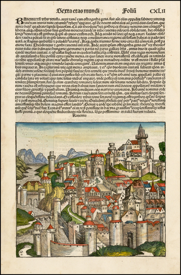 81-Italy Map By Hartmann Schedel