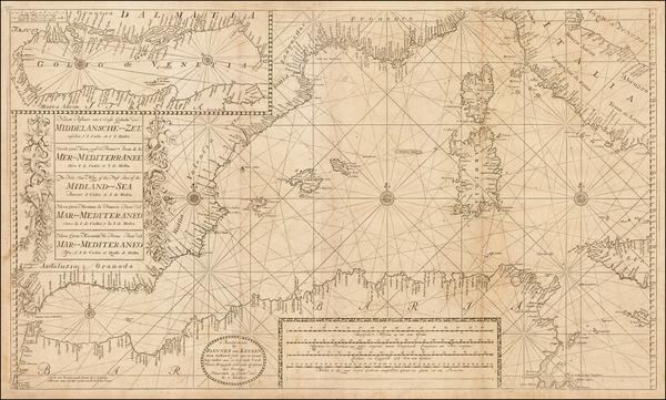 54-Mediterranean Map By