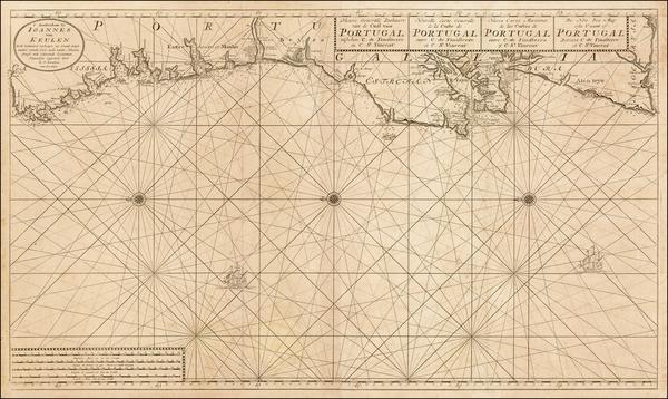 10-Portugal Map By Johannes Van Keulen