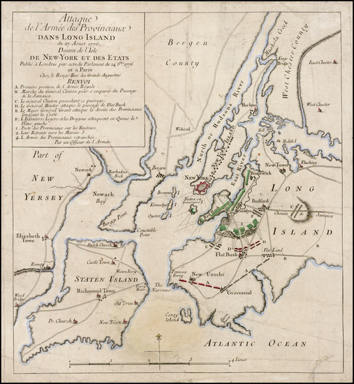 34-New York City and Mid-Atlantic Map By Georges Louis Le Rouge