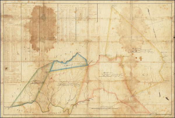 54-Southeast and North Carolina Map By Robert H.B. Brazier