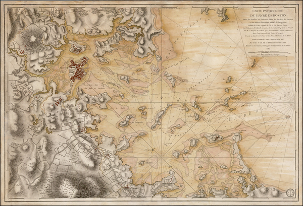 30-New England and Massachusetts Map By Antoine Sartine