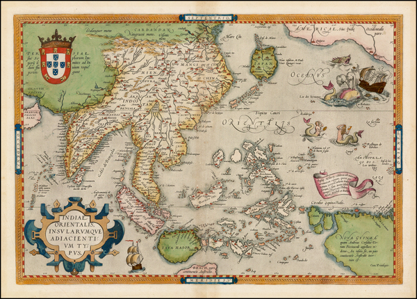 54-Southeast Asia, Philippines, Australia & Oceania, Australia and Oceania Map By Abraham Orte