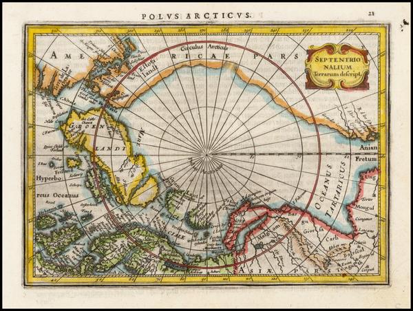 32-Polar Maps and Alaska Map By Jan Jansson