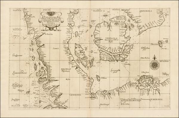 75-Scandinavia and Denmark Map By Robert Dudley