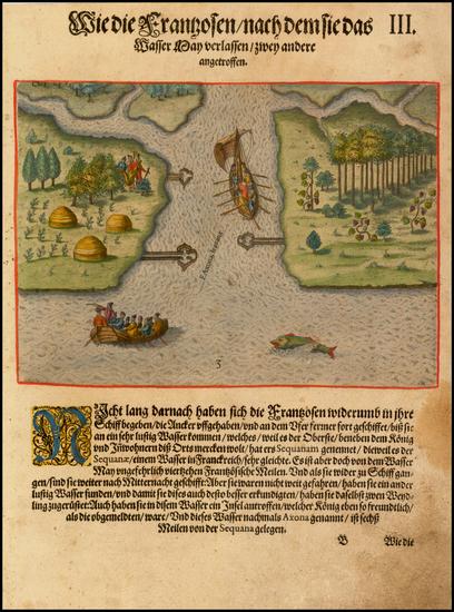 90-Southeast Map By Theodor De Bry