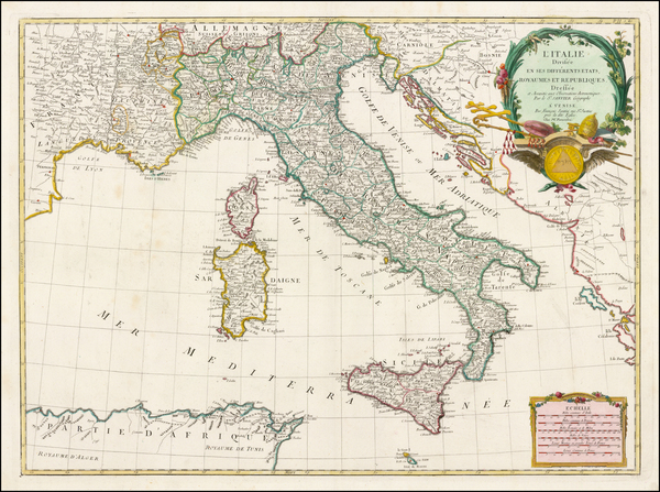 82-Italy Map By Paolo Santini