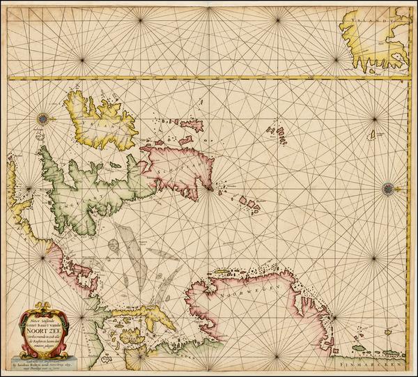 50-British Isles, Germany and Scandinavia Map By Jacobus Robijn