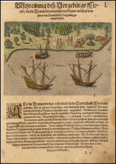 3-Southeast Map By Theodor De Bry