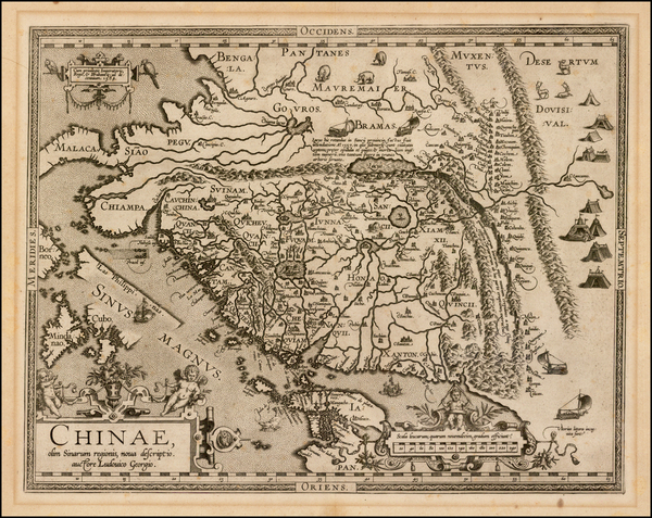 39-China, Japan and Philippines Map By Abraham Ortelius