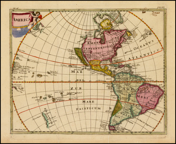 21-South America and America Map By Philipp Clüver
