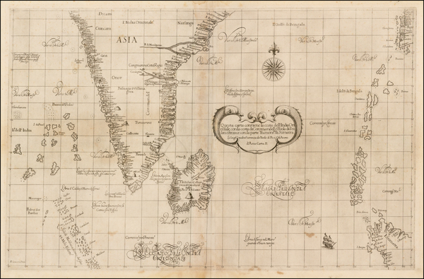 94-Indian Ocean, India, Southeast Asia and Other Islands Map By Robert Dudley