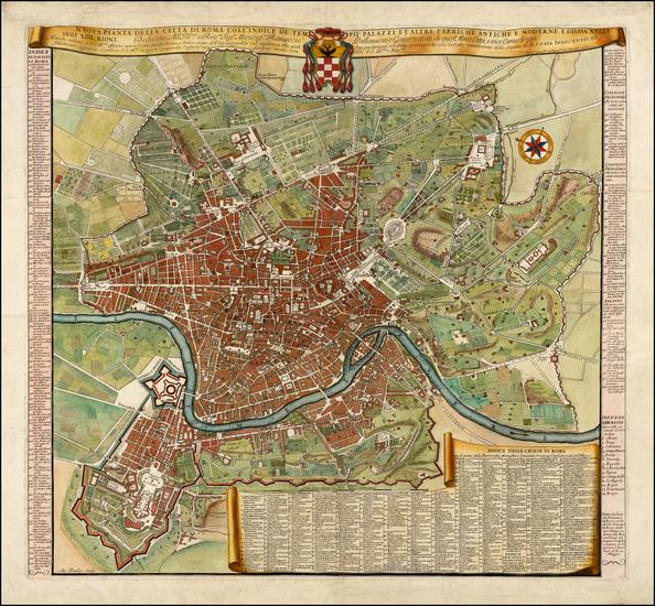 25-Italy Map By Domenico Rossi / Antonio Barbey