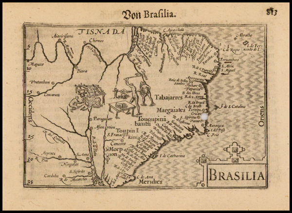 Brazil Map By Barent Langenes