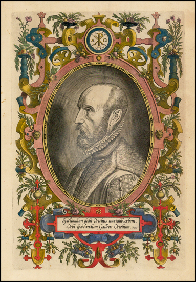 74-Portraits & People Map By Abraham Ortelius