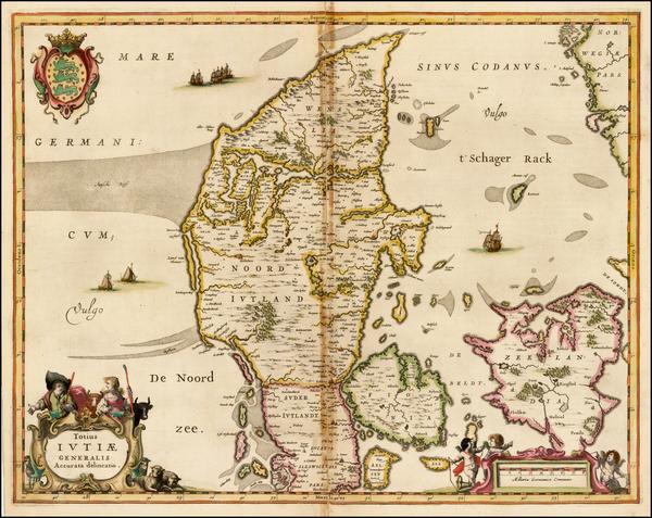 79-Denmark Map By Jan Jansson