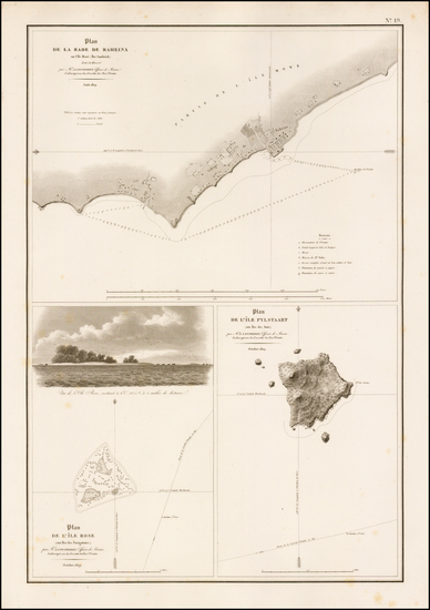 91-Hawaii, Hawaii and Other Pacific Islands Map By L.I. Duperrey