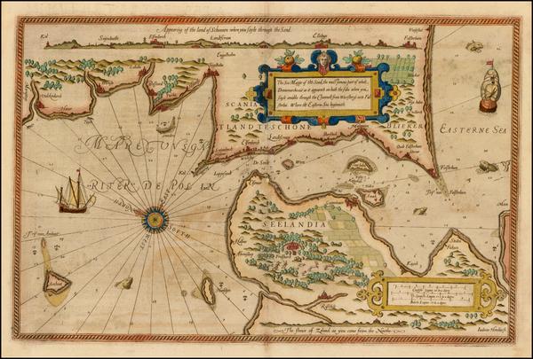 46-Scandinavia and Denmark Map By Lucas Janszoon Waghenaer