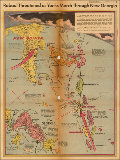 93-Southeast Asia, Other Islands, Pacific and Other Pacific Islands Map By Charles H. Owens / Los