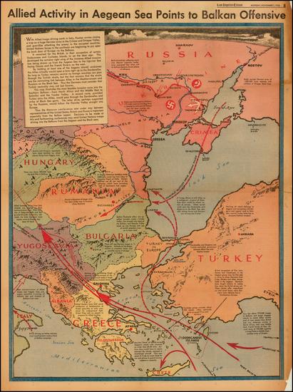 77-Poland, Russia, Ukraine, Hungary, Romania, Balkans, Greece, Turkey and Turkey & Asia Minor