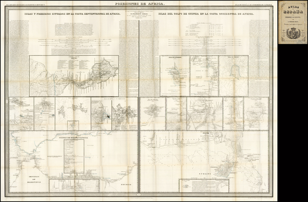 7-Africa, Africa, North Africa and African Islands, including Madagascar Map By Francisco Coello