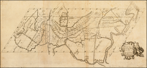 35-Mid-Atlantic and New Jersey Map By James Turner / Benjamin Franklin / James Parker