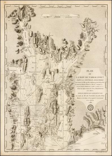 4-New England and Rhode Island Map By Depot de la Marine