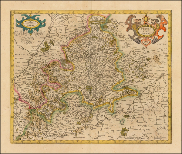 23-Germany Map By Henricus Hondius -  Gerard Mercator