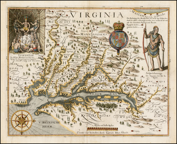 87-Mid-Atlantic and Southeast Map By John Smith