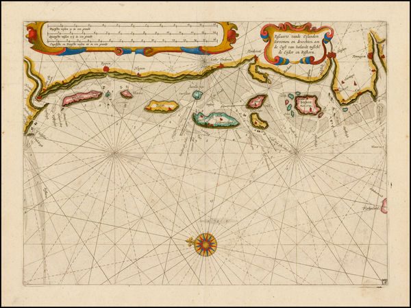 31-Germany and Denmark Map By Willem Janszoon Blaeu