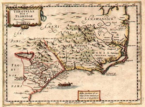 31-Southeast Map By Jacob van Waesberg