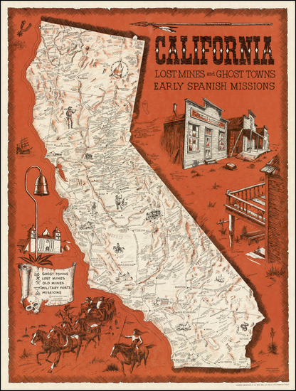 56-California Map By Andy Dagosta