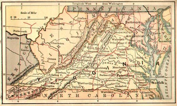 19-Southeast Map By The Bradstreet Company
