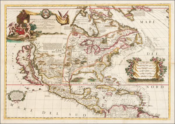 59-United States, Texas, Midwest, Southwest, North America and California Map By Vincenzo Maria Co