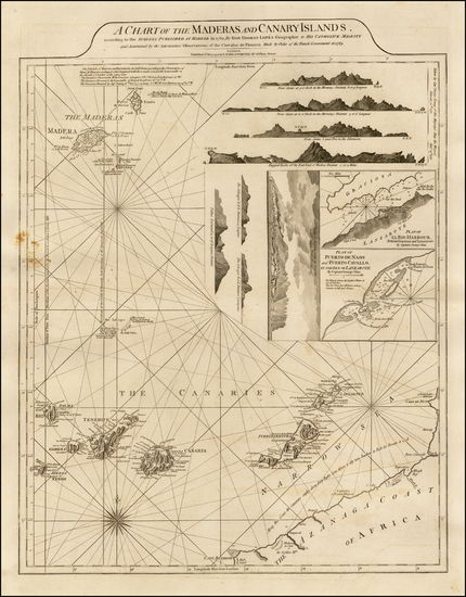 98-African Islands, including Madagascar Map By Richard Holmes Laurie  &  James Whittle