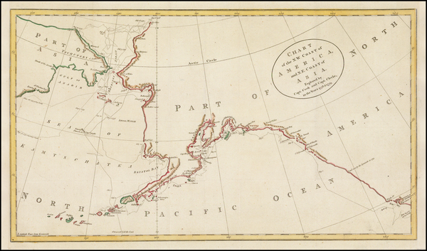 100-Alaska and Canada Map By James Cook