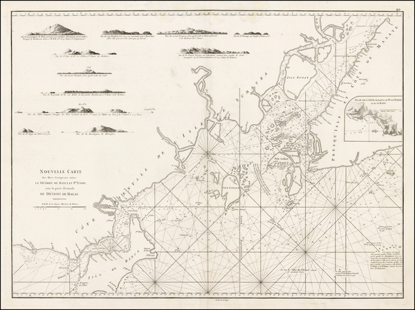 1-Southeast Asia and Other Islands Map By Jean-Baptiste-Nicolas-Denis d'Après de Mannevill