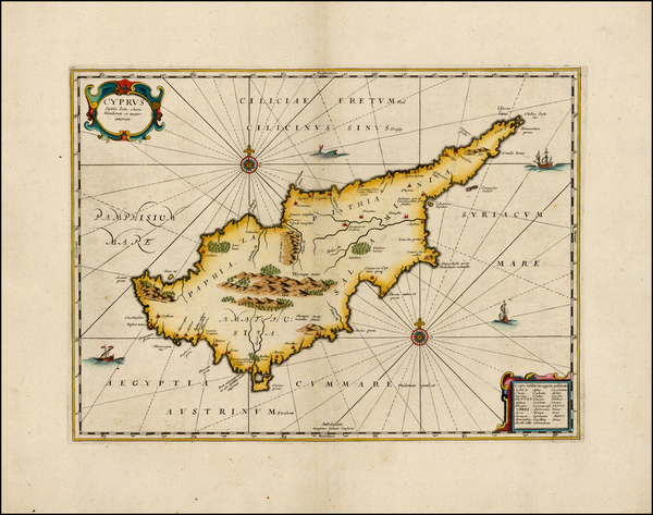 69-Balearic Islands and Cyprus Map By Jan Jansson