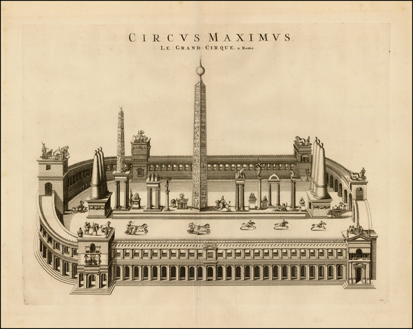27-Rome Map By Johannes Blaeu