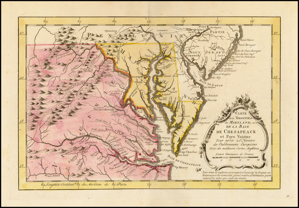 81-Mid-Atlantic, South and Southeast Map By A. Krevelt
