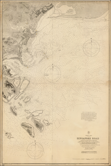 61-Southeast Asia and Singapore Map By British Admiralty