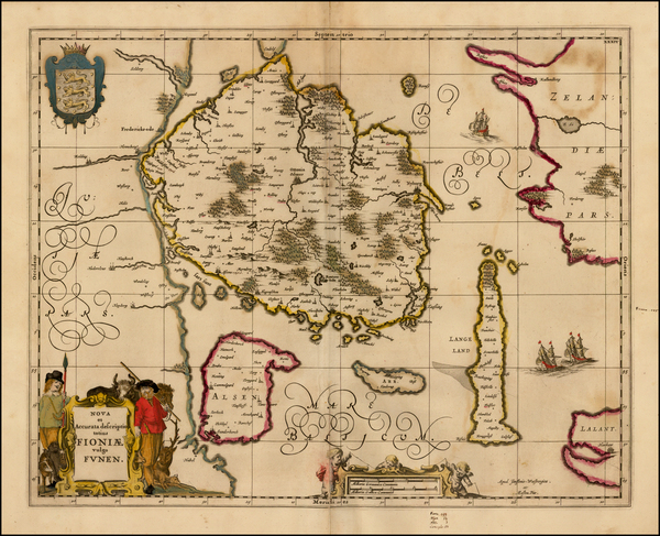16-Denmark Map By Moses Pitt